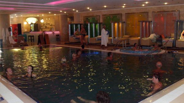 Лечебный бассейн в Поморие