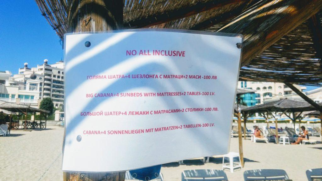 Шезлонги_зонтики_цены_пляж Поморие