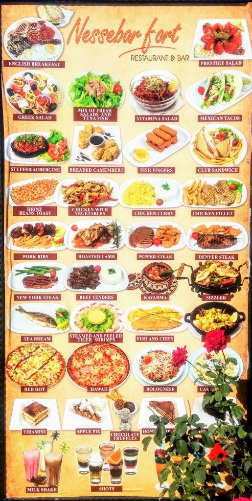 Болгарская кухня где поесть на Солнечном Берегу